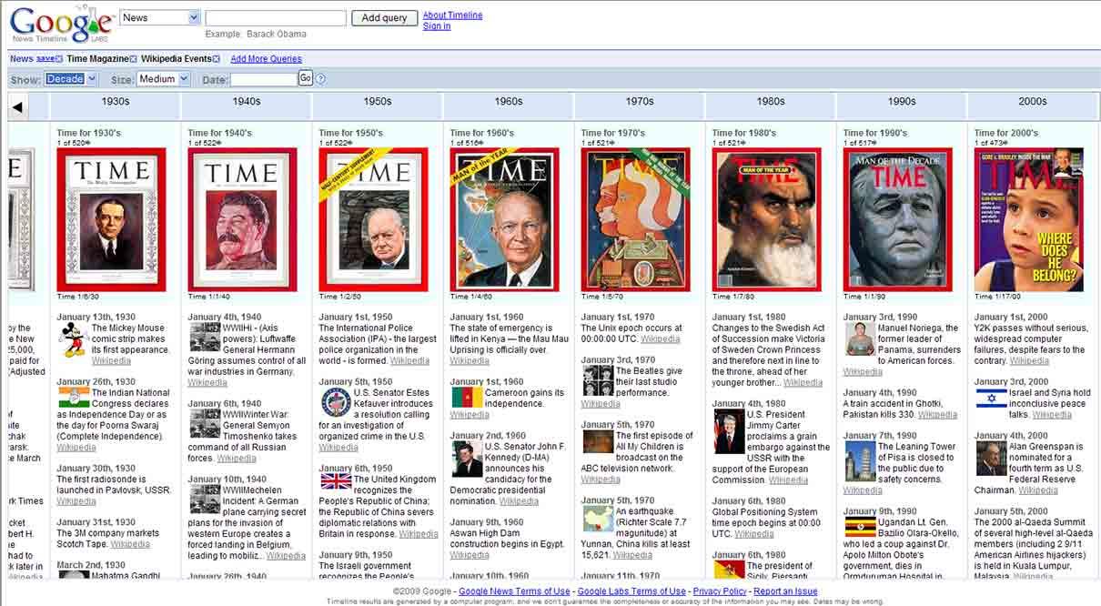 google-news-timeline