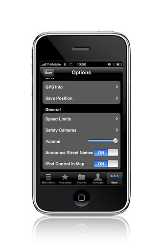 Adesso il Navigon per iPhone ha la funzione Text-to-Speech