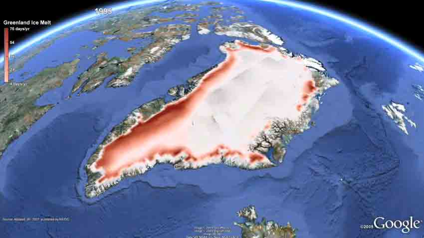 Alcuni degli effetti del riscaldamento globale, nel video realizzato da Google
