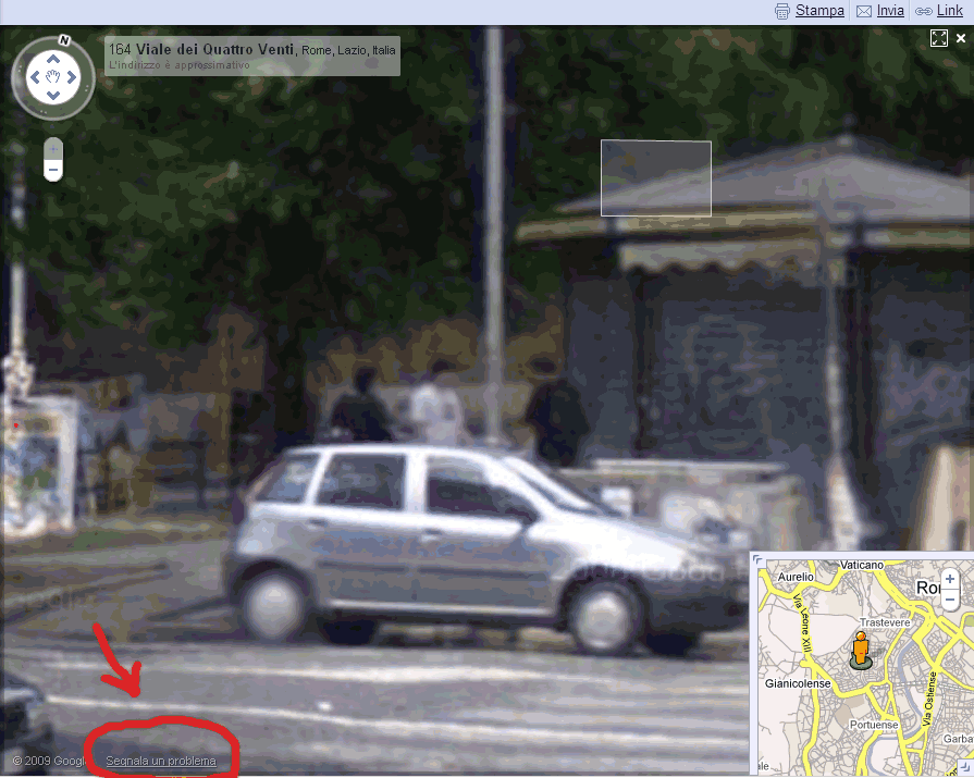 Street View a Roma