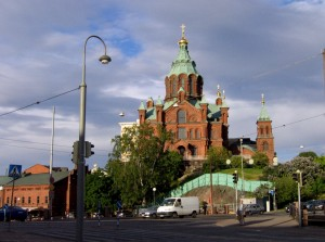La cattedrale Huspenski di Helsinki
