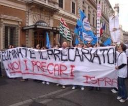 La protesta dei ricercatori Ispra contro i licenziamenti