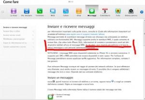 Sulla pagina di Apple dedicata ad iPhone c'è scritto che è possibile inviare lo stesso SMS a più destinatari ma non si dice che è impossibile farlo per gruppi.