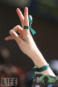Il simbolo della protesta iraniana