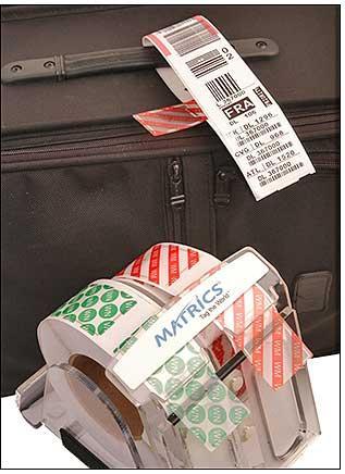 Etichette Rfid da applicare ai bagagli
