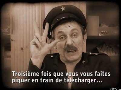 In Francia la satira si è scatenata contro la legge Hadopi