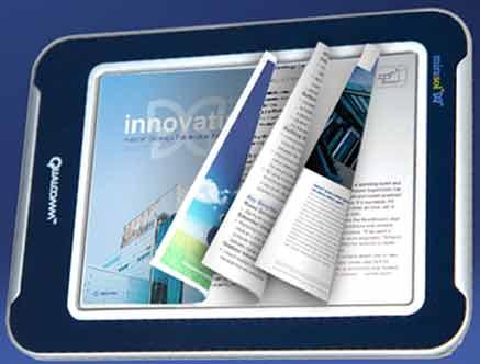 A Bernabè piace il display a colori di Qualcomm, che potrebbe equipaggiare il reader per eBook made in Italy
