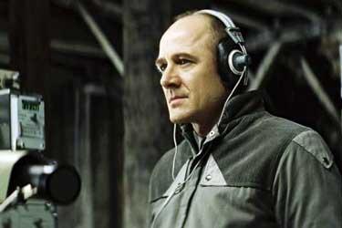 L'attore Ulrich Mühe che interpreta il Capitano della Stasi Gerd Wiesler