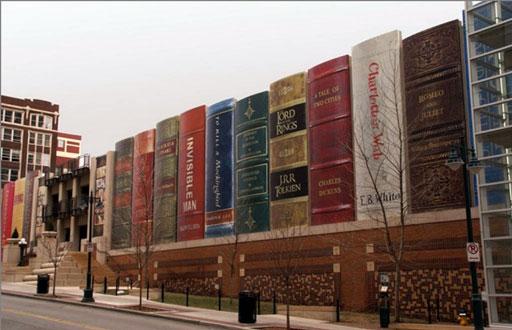 La Biblioteca Comunale di Kansas City (clicca per ingrandire)