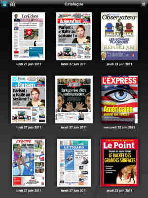 ePresse, l'edicola digitale francese.