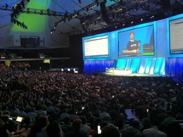 Los Angeles Microsoft BUILD Conference 2011 (foto Giuseppe Dimauro)