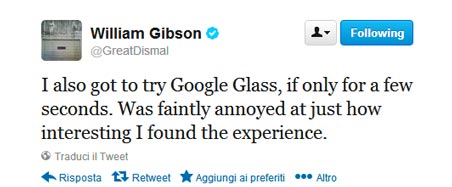 william-gibson-tweet-google-glass