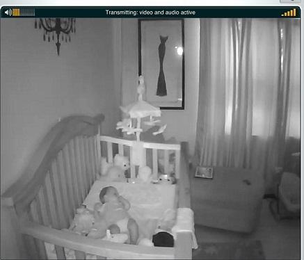 videocamera sorveglianza bimbi