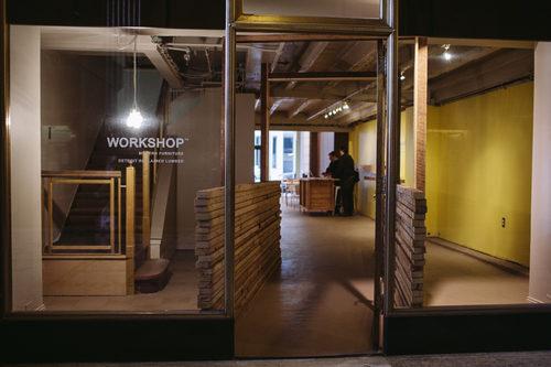 La sede di Workshop nel centro di Detroit