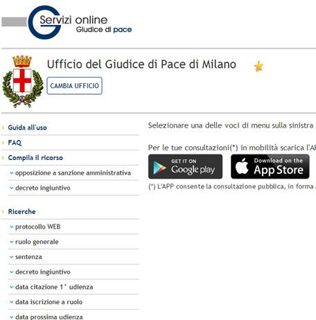 giudice-di-pace-online